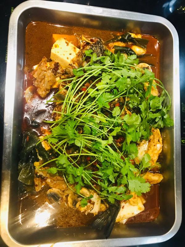 Roast fish specialites 锅色烤鱼