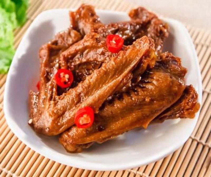 Duck garlic 鸭翅