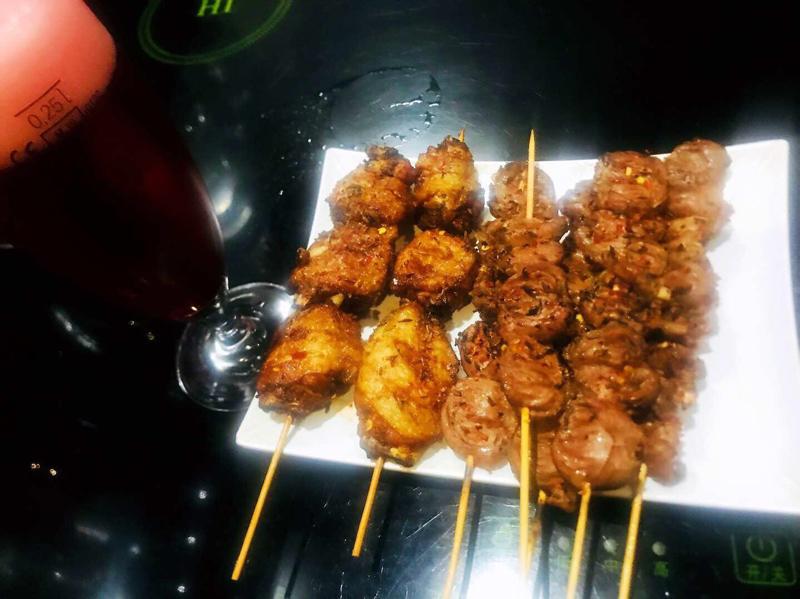 Coeur de poulet 烤鸡心