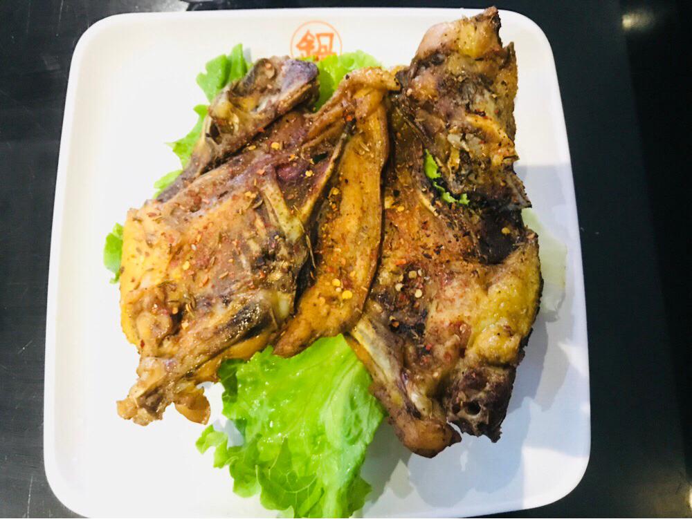 Rock de poulet 烤鸡架