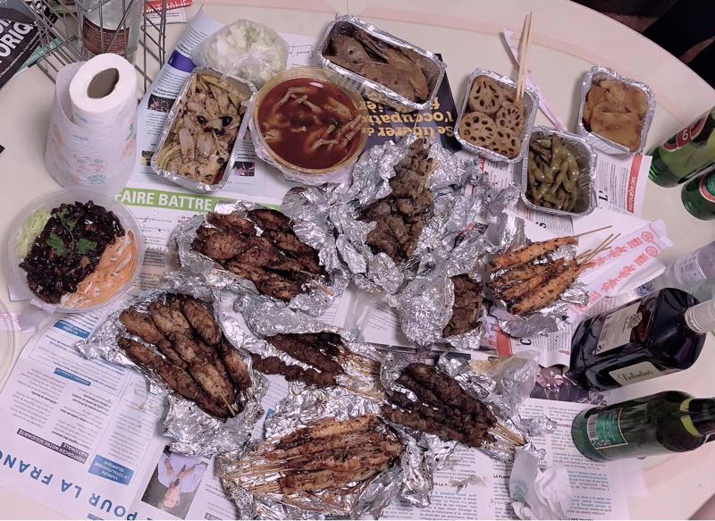 Aile de poulet 烤翅中