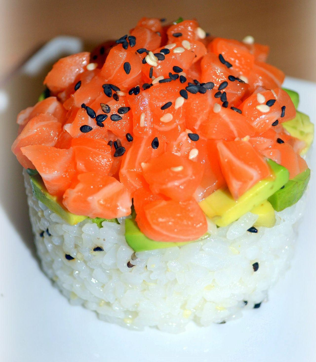 TA1 Riz tartare saumon