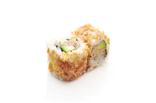 Frit roll thon mayonnaise avocat
