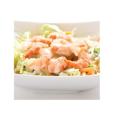 Salade chinoise au crevette