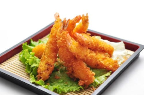 beige tempura