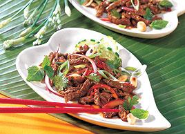 Salade thaï au bœuf