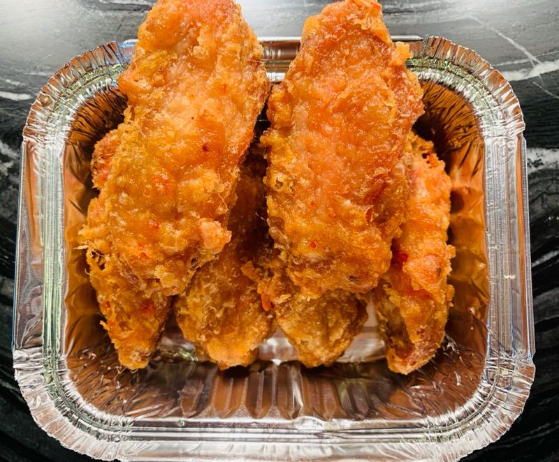 Ailes e poulet frit