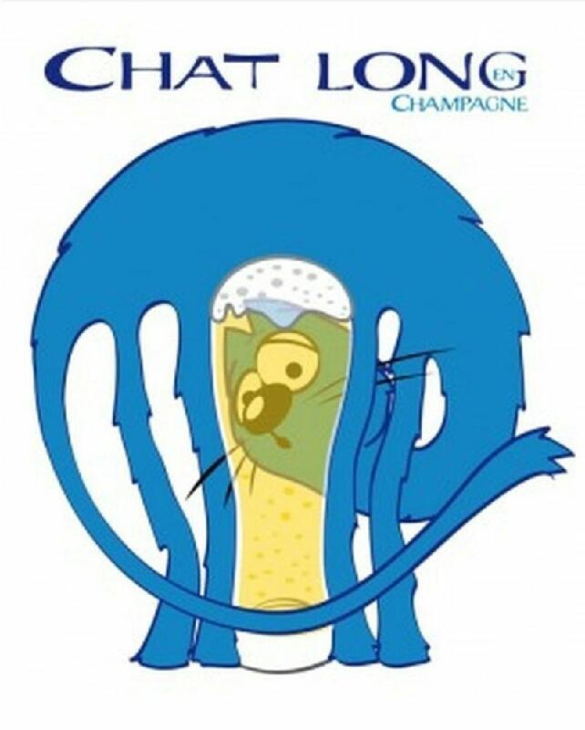 CHAT LONG chat noir de Toussaints (bière brune artisanale Chalons en Champagne ) 330ml