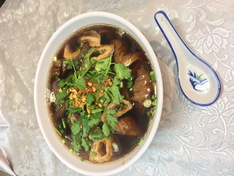 M11 Triangle Rice Pasta with Pork oal of Teochew Style