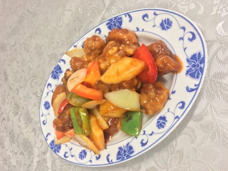 43 Pork with Sweet and Sour Sauce