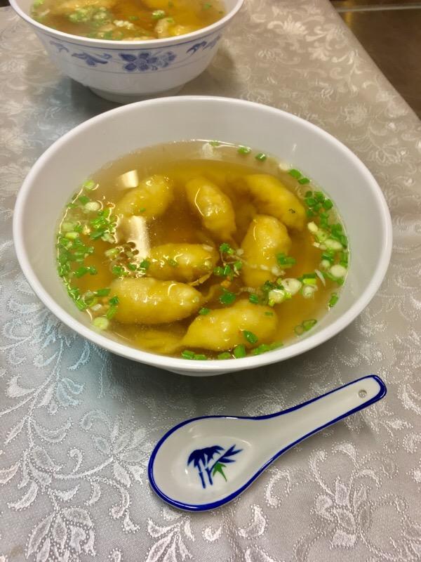 M7 Raviolis Soup