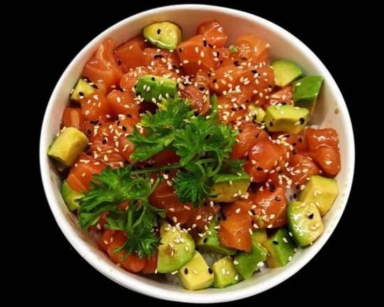 J17A chirashi tatare saumon (nouveauté 🔥🔥🔥)