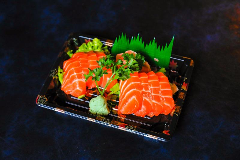 J7  8 sashimi saumon