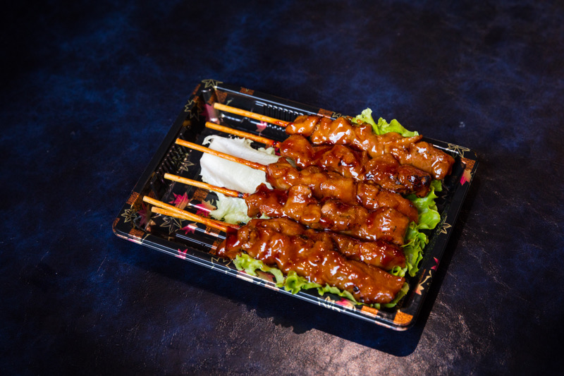 J19  brochettes poulet yakitori 6 pcs