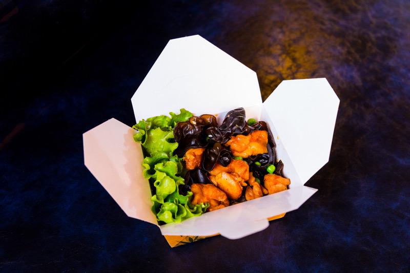 P1C 🐓🐓 poulet aus champignons noirs