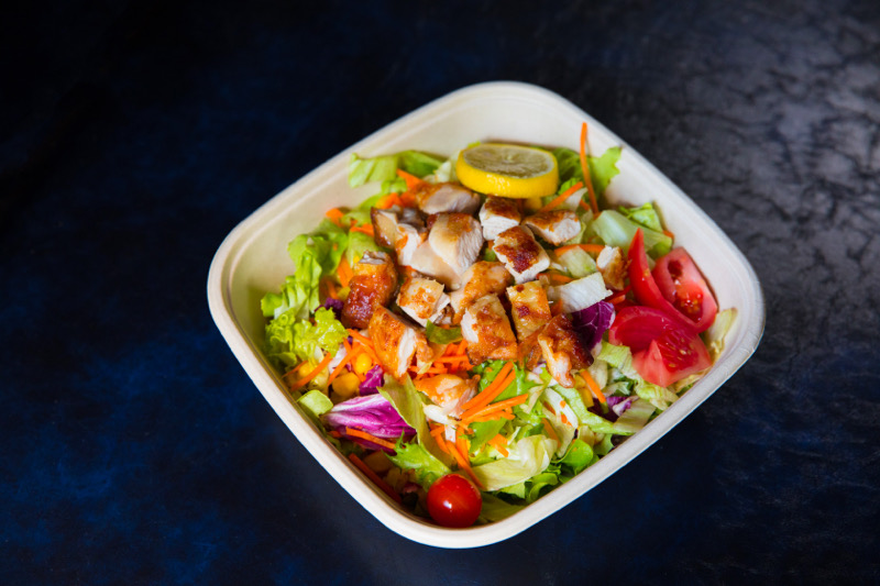 S1 Salade au poulet 🐓pané