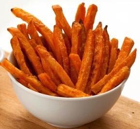 A7  frites de patates douce 😋