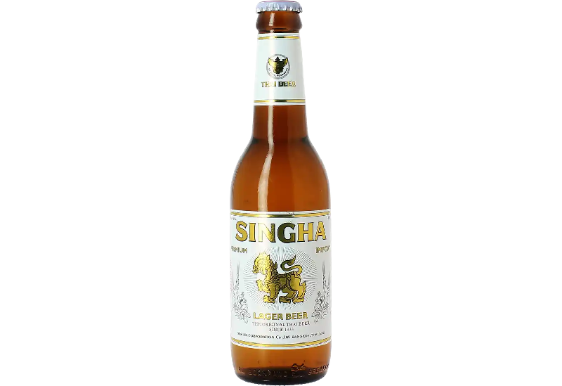 BT  Bière Singha  Thaï