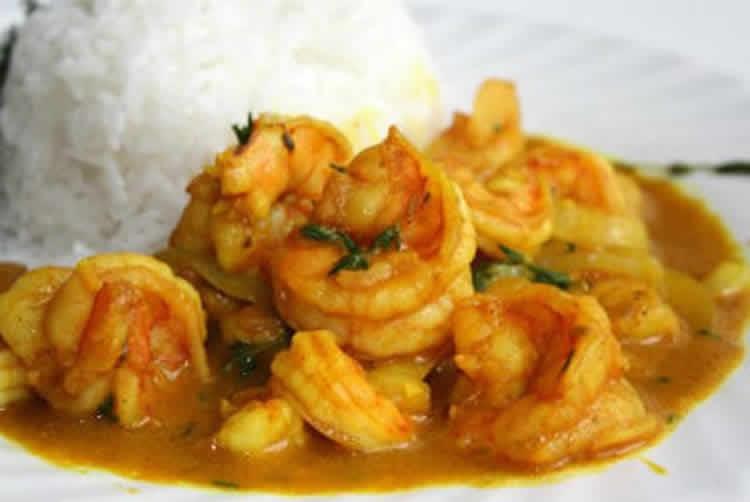 P26 Crevettes au curry