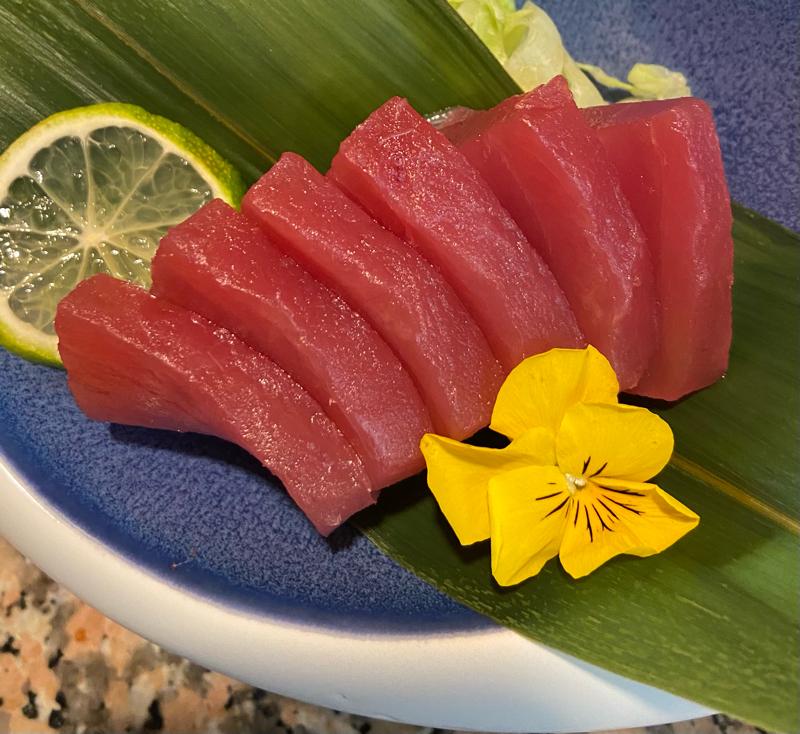 Sashimi di Tonno  6Pz