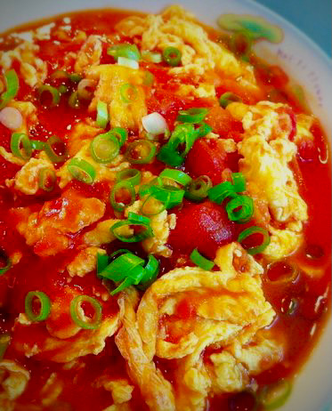 A17. Tomate et œuf l'aigre-doux
