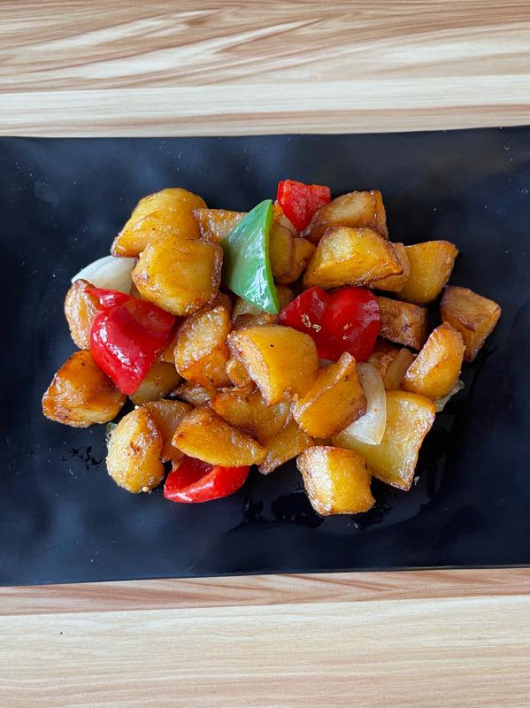 Pommes de terre au sel & poivre