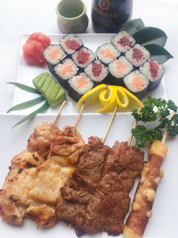 Menu O: Maki-Yakitori