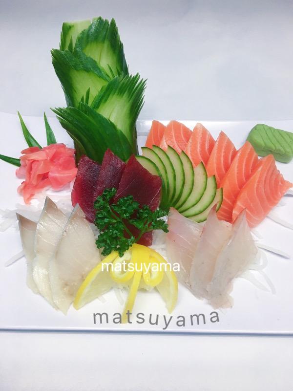 Menu G: Sashimi-15 tranches