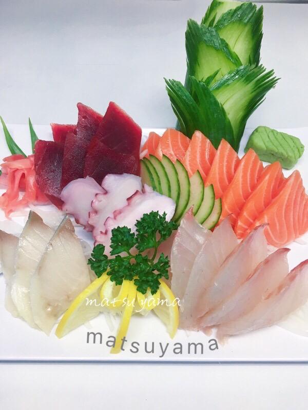 Menu G: Sashimi-25 tranches