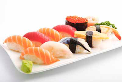 Menu K: Sushi-12 pièces