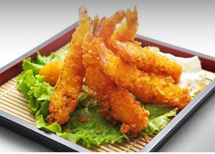 H13-tempura de gambas