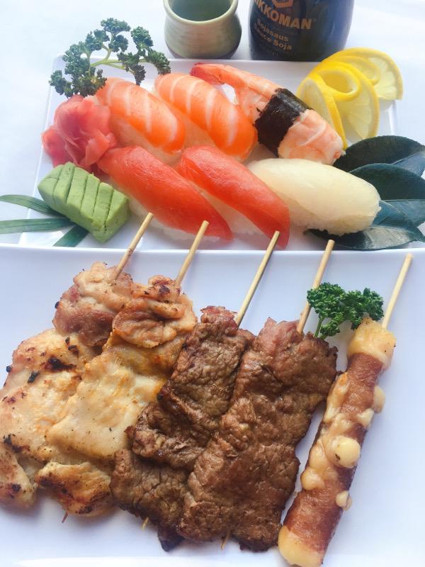 Menu M: Sushi-yakitori