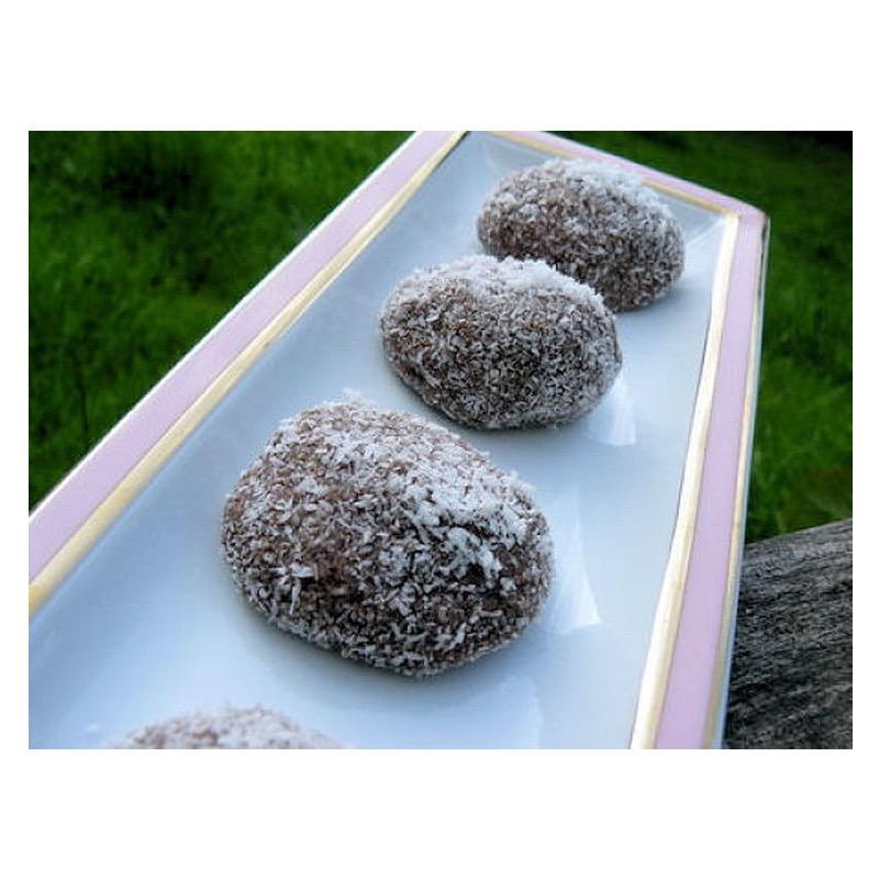 perle de coco au chocolat