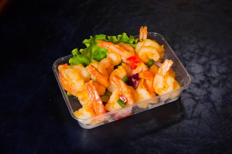P3 Crevettes sautées au sel et au poivre
